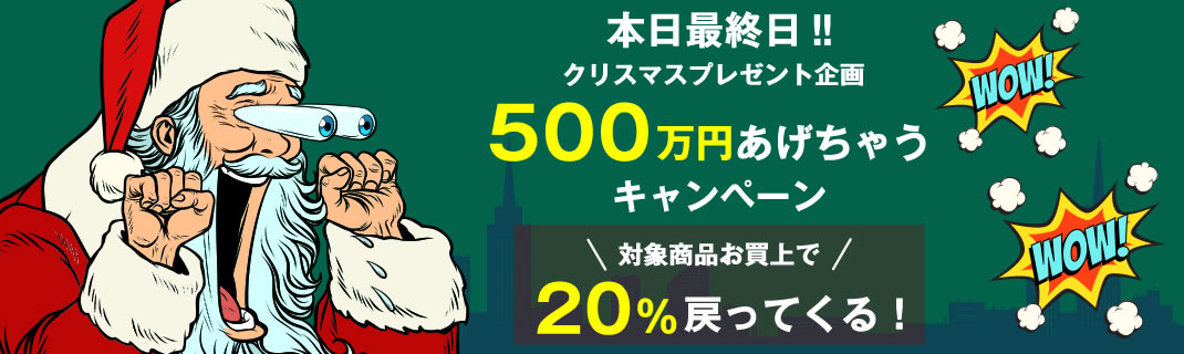 500万円あげちゃうキャンペーン